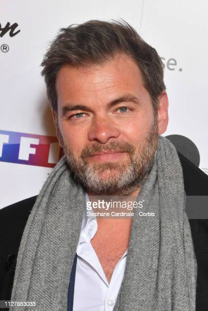 Clovis Cornillac attends the 26th Trophees Du Film Francais Photocall at Palais Brongniart on February 05 2019 in Paris France