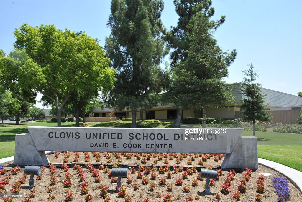 Clovis Unified School District headquarters, Sunnyside and Herndon avenues. Some community members and students say racism is a problem in the district.