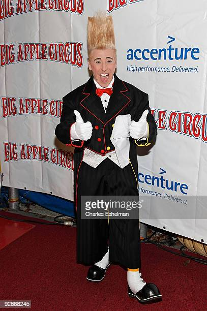 Clown Bello attends the 2009 Big Apple Circus opening night gala benefit at Damrosch Park in Lincoln Center on November 6 2009 in New York City