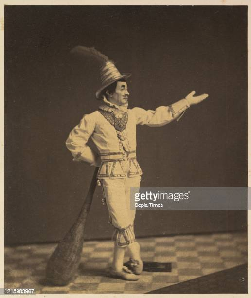 Clown. Circa 1860. Albumen silver print. Image: 8 1/16 _ 6 13/16 in. . Photographs. Charles DeForest Fredricks . Fredricks operated one of the most...