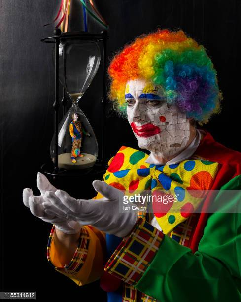 clown composite - ian gwinn stock photos and pictures