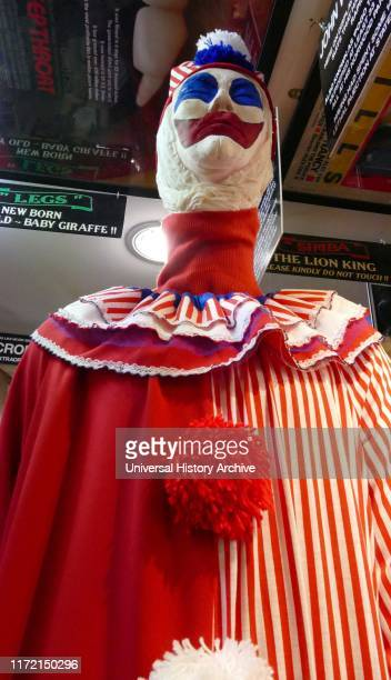 A clown costume and mask similar to that worn by John Wayne Gacy John Wayne Gacy Jr an American serial killer and rapist during the 1970s