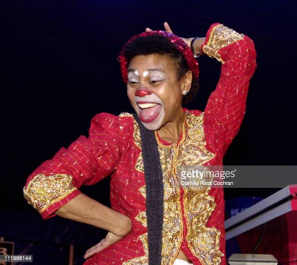 Clown during Big Apple Circus Opening Night Gala Benefit at Damrosch Park at Lincoln Center in New York City New York United States