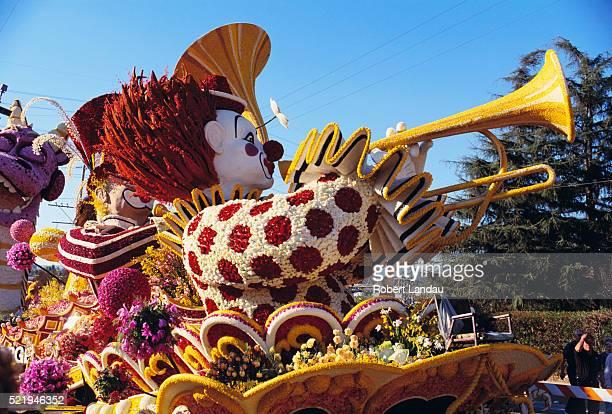Clown Float at Rose Parade