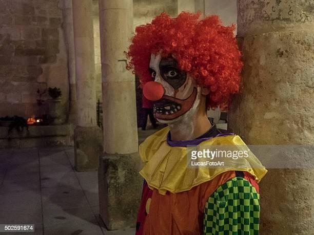 Clown  in Halloween