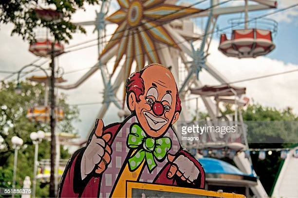 A Clown in the Bohemian Prater Vienna 2013 Photograph by Gerhard Trumler