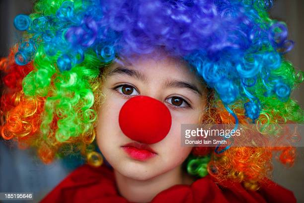clown - clown's nose stock photos and pictures