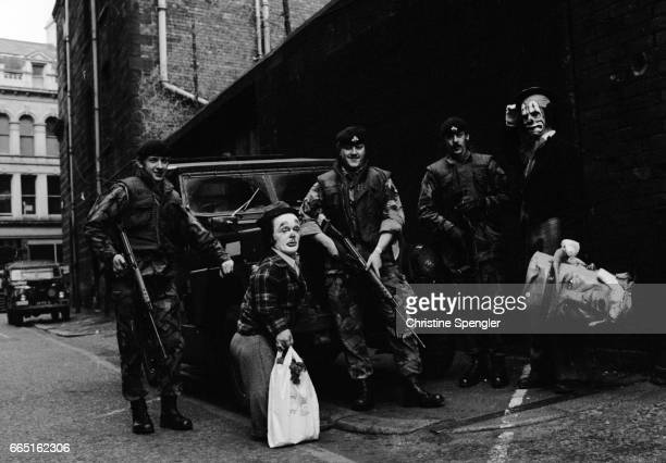 Clowns and Soldiers in Belfast