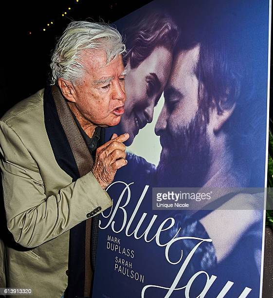 """Clu Gulager attends the """"Blue Jay"""" Los Angeles Special Screeningat The CineFamily on October 10, 2016 in Los Angeles, California."""