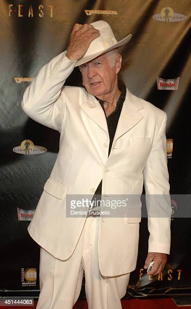 Clu Gulager during Feast World Premiere at Brenden Theaters at The Palms Hotel and Casino Resort in Las Vegas Nevada