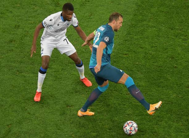 RUS: Zenit St. Petersburg v Club Brugge KV: Group F - UEFA Champions League