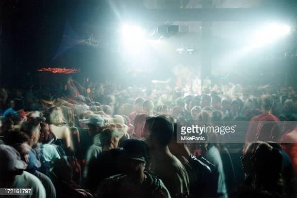 club Aufnahmen von Menschenmengen 007