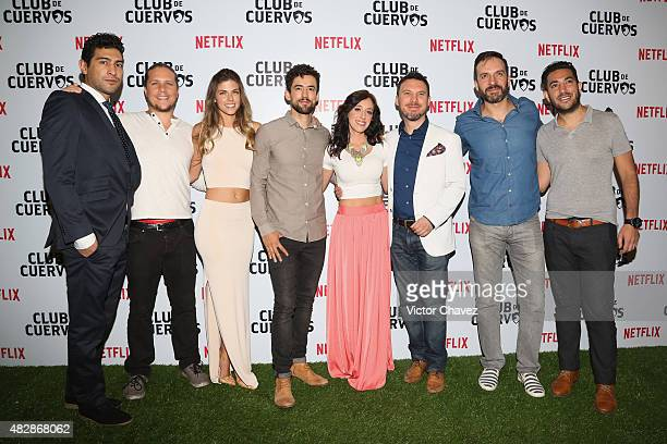'Club De Cuervos' Cast members Ianis Guerrero director Gary Alazraki Stephanie Cayo Luis Gerardo Mendez Mariana Trevino producer Leo Zimbron Antonio...
