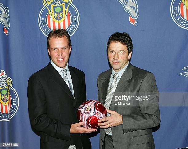 Club Deportivo Chivas USA Coowner and President Antonio Cue announced that Preki a twotime MLS Most Valuable Player and one of the most prolific...