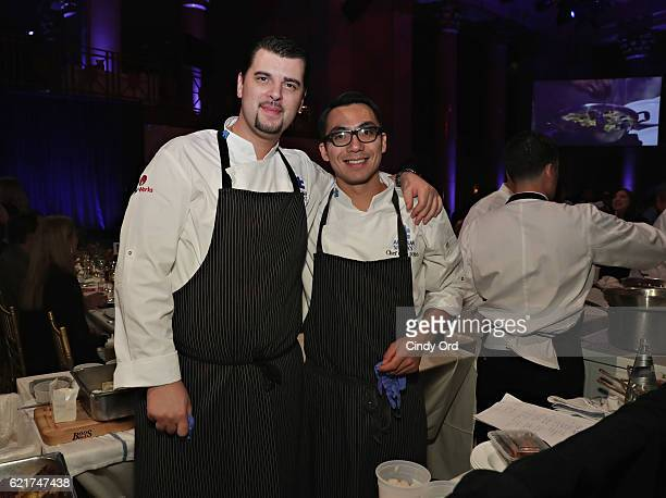 Club Executive Chef Sylvain Delpique attends Autism Speaks Celebrity Chef Gala at Cipriani Wall Street on November 7, 2016 in New York City.