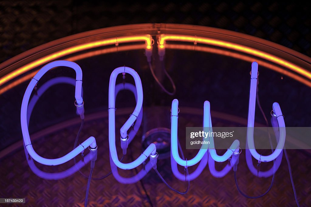 club neon : Stock Photo