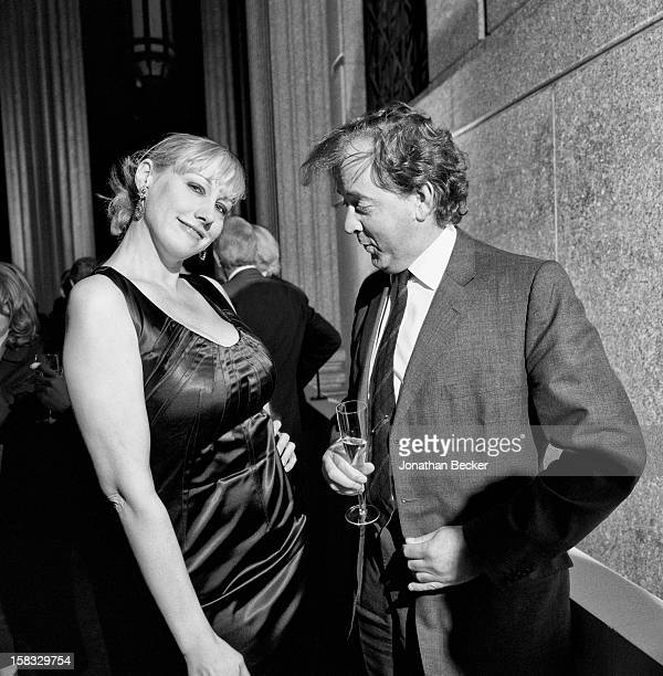 Club owner Amy Sacco and Mark Cornell are photographed for Vanity Fair Magazine on April 24 2007 at the Vanity Fair Tribeca Film Festival party at...