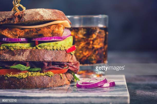 club sandwich - club sandwich stock pictures, royalty-free photos & images