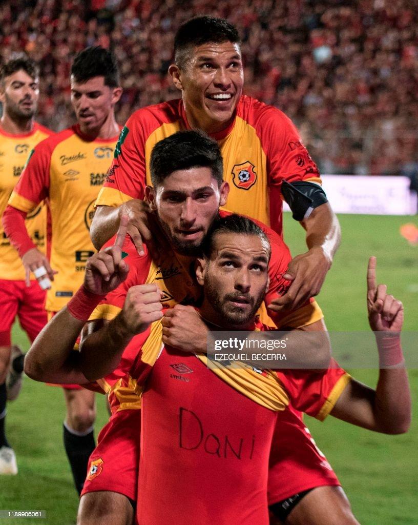 Club Sport Herediano S Yendrick Ruiz Aron Salazar And Esteban News Photo Getty Images
