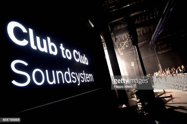 Club to Club Soundsystem at the OGR Big Bang event on October 7 2017 in Turin Italy