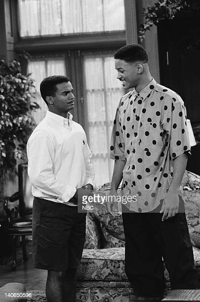 AIR 'Clubba Hubba' Episode 3 Pictured Alfonso Ribeiro as Carlton Banks Will Smith as William 'Will' Smith Photo by Ron Tom/NBCU Photo Bank