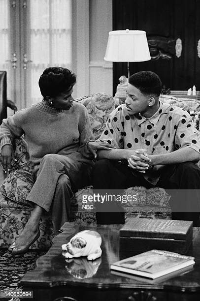 AIR 'Clubba Hubba' Episode 3 Pictured Janet Hubert as Vivian Banks Will Smith as William 'Will' Smith Photo by Ron Tom/NBCU Photo Bank
