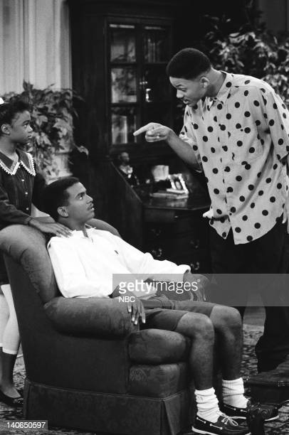 AIR 'Clubba Hubba' Episode 3 Pictured Tatyana Ali as Ashley Banks Alfonso Ribeiro as Carlton Banks Will Smith as William 'Will' Smith Photo by Ron...