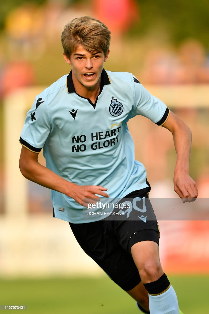 Club's Charles De Ketelaere pictured during a friendly ...