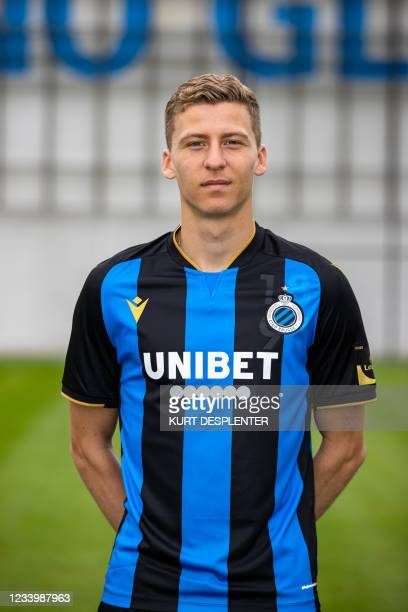 Club's Ignace Van Der Brempt poses for a team picture, at the 2021-2022 photoshoot of Belgian Jupiler Pro League club Club Brugge, Thursday 15 July...