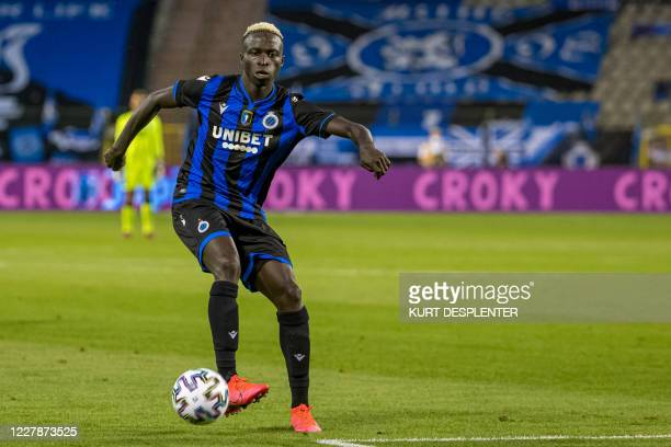 Club's Krepin Diatta pictured in action during the 'Croky Cup' Belgian cup final between Club Brugge KV and Royal Antwerp FC, Saturday 01 August 2020...