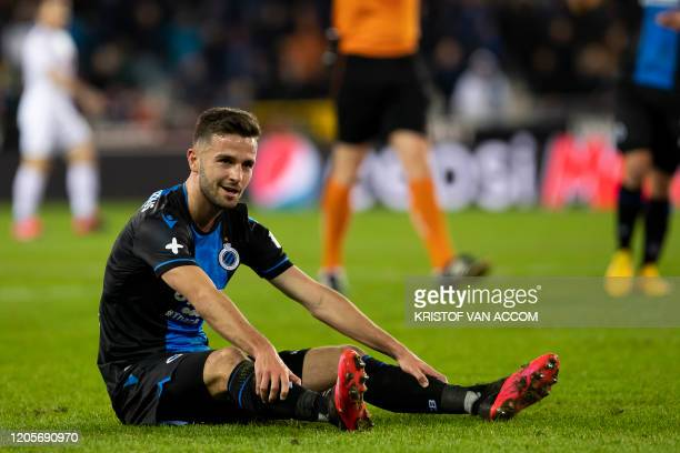 Club's Siebe Schrijvers pictured during a soccer match between Club Brugge KV and Cercle Brugge KSV Saturday 07 March 2020 in Brugge on day 29 of the...