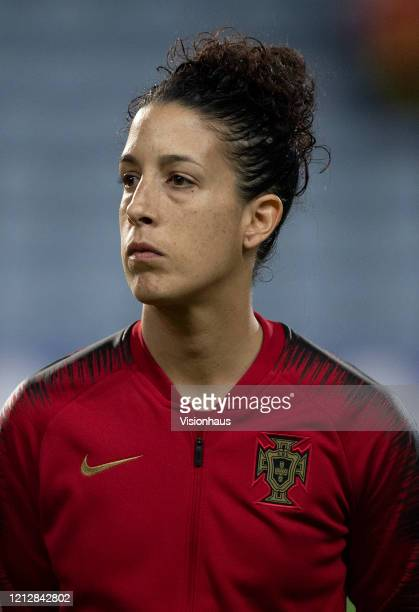 Cláudia Neto of Portugal during the Algarve Cup match between Portugal Women and Italy Women at the Estadio Algarve on March 4 2020 in Loule Portugal