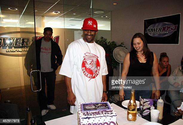 DJ Clue and Nadine Santos Music Dir of Power 1051 FM