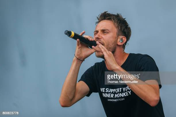 Clueso performs during the second day of the Southside festival on June 24 2017 in Neuhausen Germany