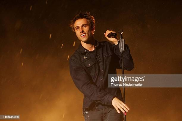Clueso performs on day 1 of the Southside Festival on June 17 2011 in Neuhausen Germany