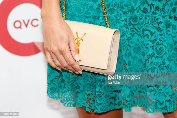 Clutch of model AnnKathrin Broemmel as detail during a QVC event during the Vogue Fashion's Night Out on September 8 2017 in duesseldorf Germany