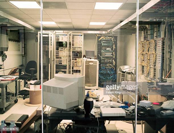 Cluttered Server Room