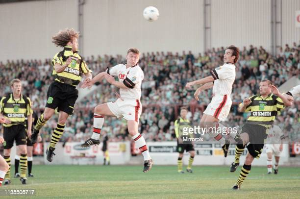 Clyde 13 Celtic Scottish League Cup Second Round match at Broadwood Stadium Cumbernauld Tuesday 13th August 1996