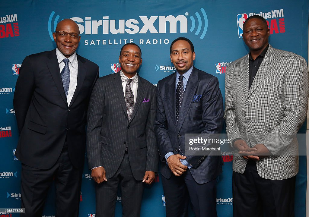 "SiriusXM's ""Town Hall"" With Clyde Drexler, Isiah Thomas, Dominique Wilkins And Stephen A. Smith"