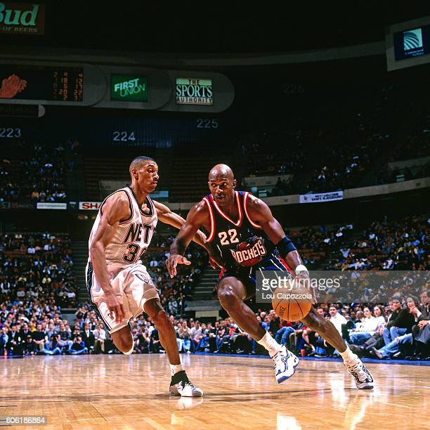 Rockets Vs Warriors Uk Time: Clyde Drexler Stock Photos And Pictures