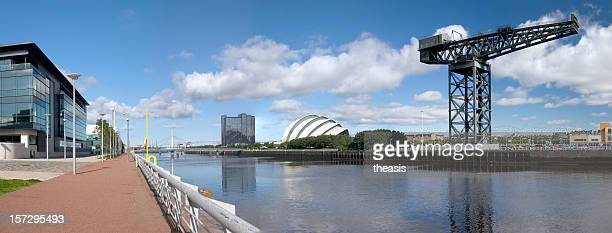 clyde panorama - theasis stock pictures, royalty-free photos & images