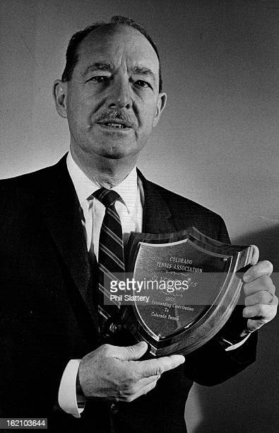 MAY 4 1964 MAY 6 1964 Clyde Rogers whose personal promotion of the Memorial Day tennis tournament and jackofalltrades assistance to the CTA earned...