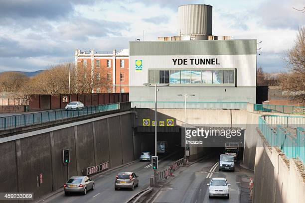clyde tunnel south portale, glasgow - theasis foto e immagini stock