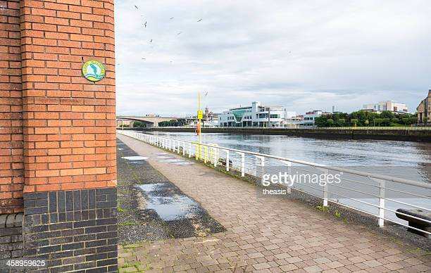 clyde walkway, glasgow - theasis stock pictures, royalty-free photos & images