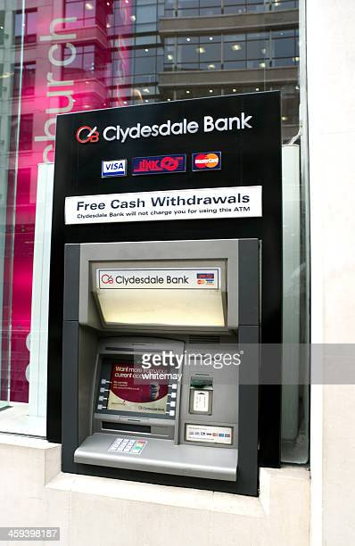 Clydesdale Bank cash machine
