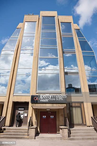 clydesdale-bank, glasgow - theasis stock-fotos und bilder