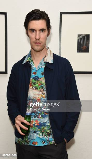 Clym Evernden attends GarconJon 10 Years Of Street Style presented by Vogue Hommes at 13 Floral Street on June 9 2018 in London England