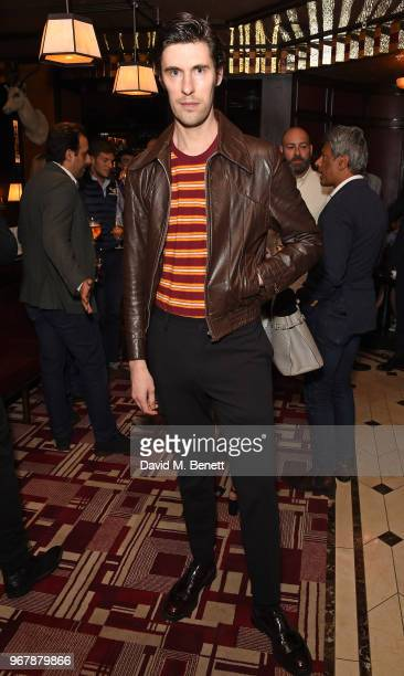 Clym Evernden attends JKS Restaurants launch of Brigadiers on June 5 2018 in London England