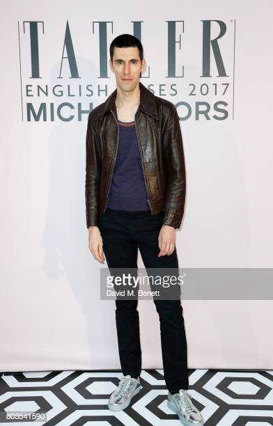 Clym Evernden attends Tatler's English Roses 2017 in association with Michael Kors at the Saatchi Gallery on June 29 2017 in London England
