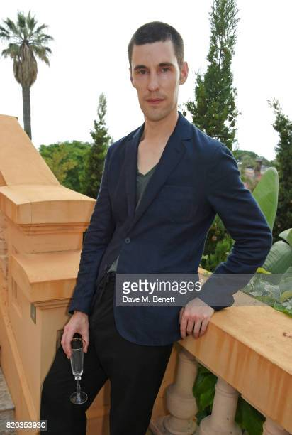 Clym Evernden attends the Lelloue launch party at Villa St George on July 21 2017 in Cannes France